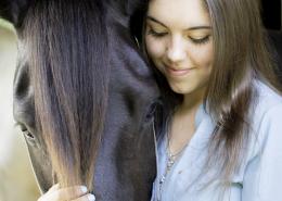 Hænge ud med hesten