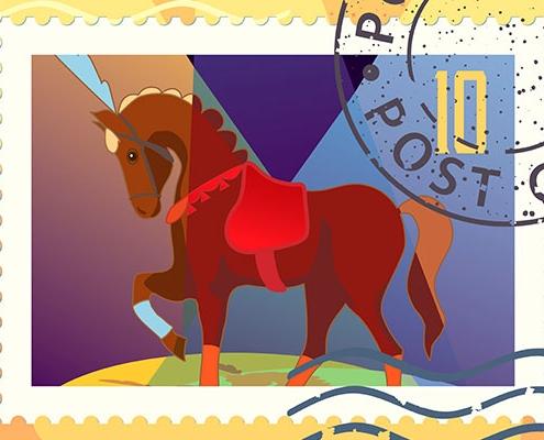 Underfrankeret hest